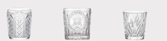 Stylepoint verres vintage
