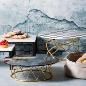 Stylepoint melamine buffetplateaus