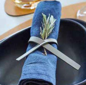 Linddna boucle serviette