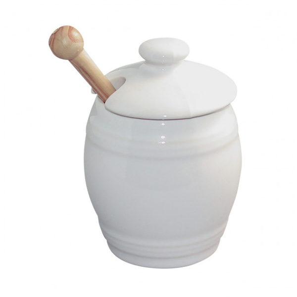 moutardier-baril-en-porcelaine-blanche-avec-couvercle-spatule
